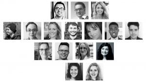 Compilation of 16 research assistants selected for Research Assistantships