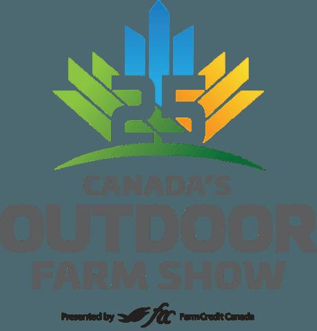 Canada's outdoor farm show logo