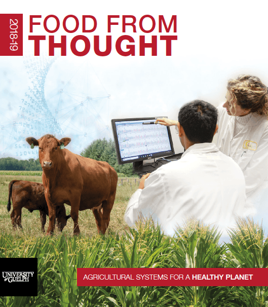 Cover image of Food from Thought annual report